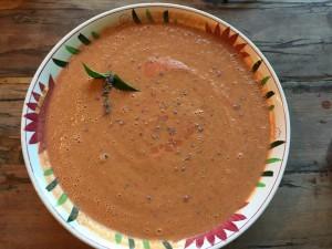 anise hyssop gazpacho